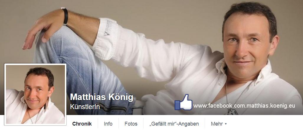 Besuche Matthias König auf Facebook