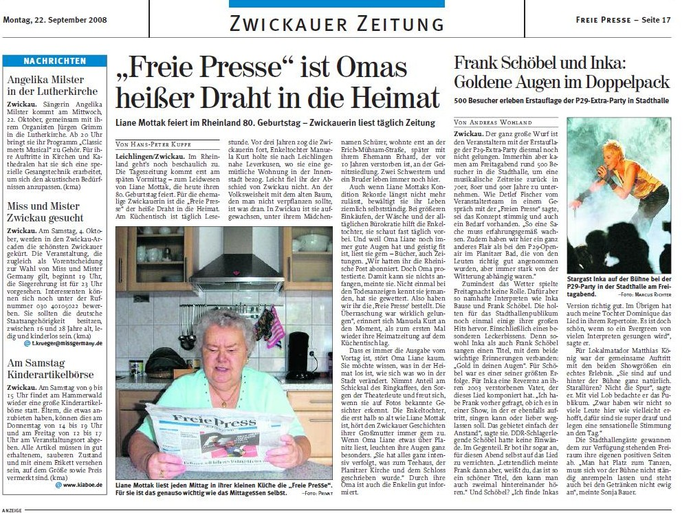 Freie Presse-22.09.08