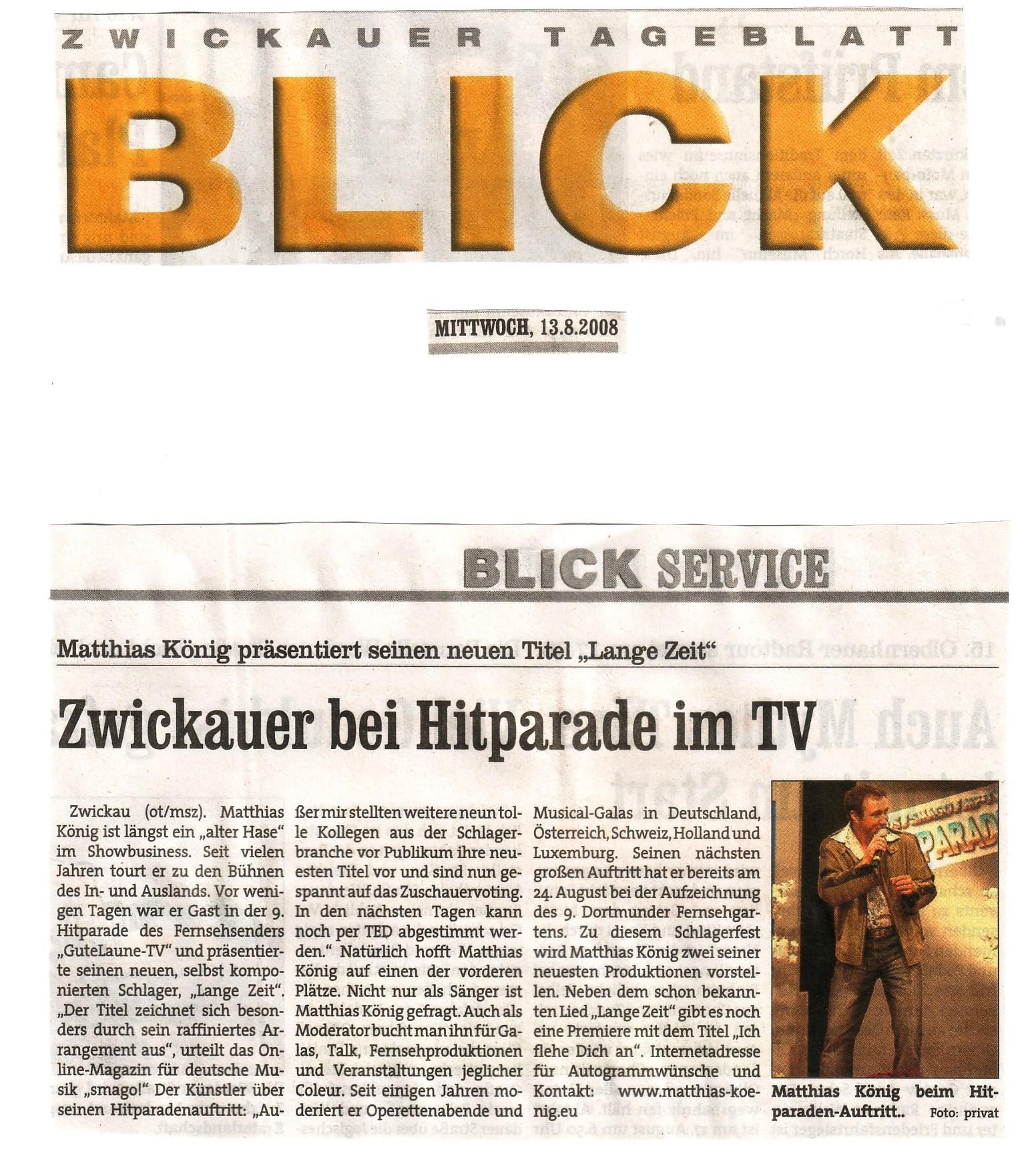 Blick 13-08-2008
