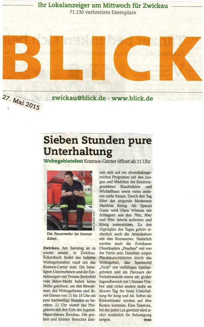 Zwickauer Blick-27.05.2015